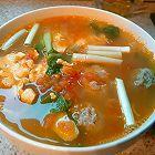 番茄青菜肉丸蛋汤