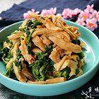 凉拌鸡肉菠菜