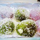 椰蓉五彩糯米团子
