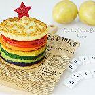 彩虹马铃薯汉堡