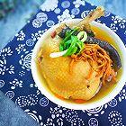 虫草花炖鸡汤