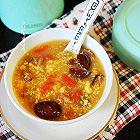 清香甜糯滑润的嫩玉米枸杞红枣粥