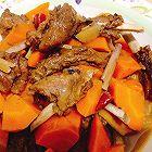 进补羊肉炖胡萝卜