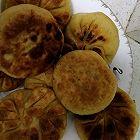 桂花苹果柿子饼