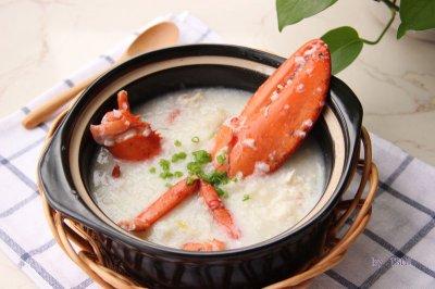 鲜美养生粥:龙虾粥