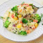 奶油芝士蔬菜烩饭