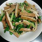 香菇青豆炒香干