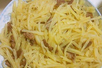 土豆炒羊肉