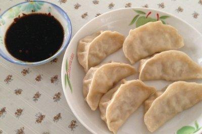 冬瓜牛肉饺子