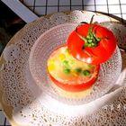 西红柿蔬粒芝士盅