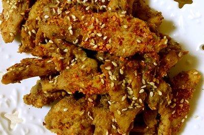 快手菜-微波烧烤香辣鸡肉