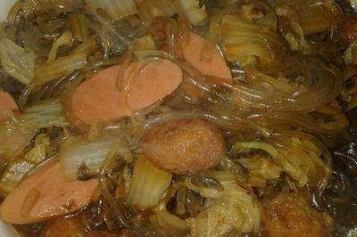 山西味白菜粉条烩菜