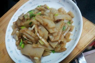 炒荞面碗托(山西菜)