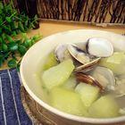 养生减肥的蛤蜊冬瓜汤