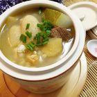 野生竹荪老鸭冬瓜汤