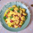 酸酸甜甜菠萝咕�K虾