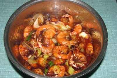 家乡版油焖大虾