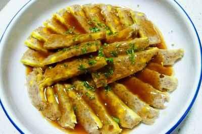 安徽家宴传统菜肴:扦子(让菜)