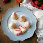 情人节甜点:草莓大福