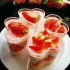 杯子版草莓慕斯蛋糕