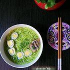菠菜汁阳春面