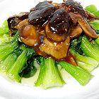 香菇油菜(家常菜爆炒猪肝版)