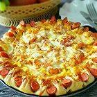 花边虾仁披萨