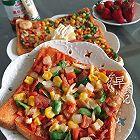 微波炉吐司披萨(五分钟快餐)