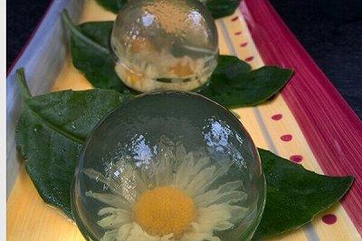 菊花水晶球