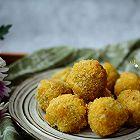 冬日里的小甜点:香酥炸红薯球