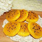 营养小饼:南瓜豆沙饼