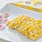 酥香软糯的黄金玉米马蹄烙