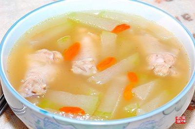 鸡腿冬瓜汤