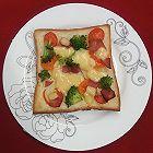 火腿土司披萨