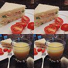 早餐:吞拿鱼三明治