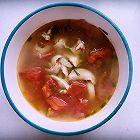 西红柿龙井鱼片汤