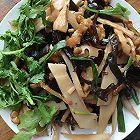 竹笋木耳炒肉