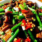 蒜苔炒鳝鱼