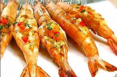 蒜香焗大虾