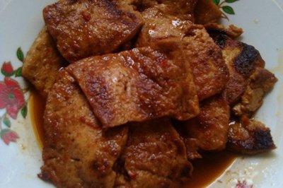 红烧豆腐片