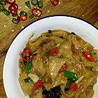 猪蹄汤烩烙饼