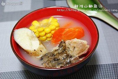 鲜淮山鲫鱼汤