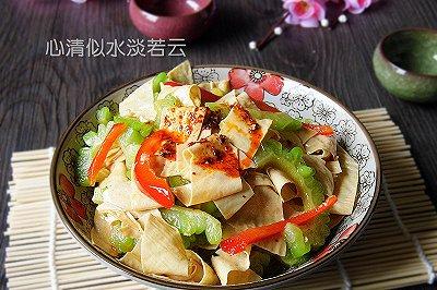 红油豆腐皮