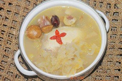 栗子银耳鸡汤