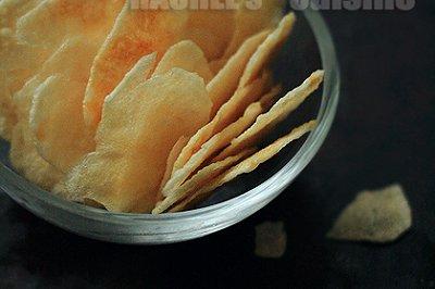 自制(盐醋味)薯片