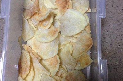 无油版微波炉薯片