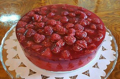 树莓果冻芝士蛋糕8寸