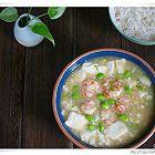 毛豆虾仁烩豆腐