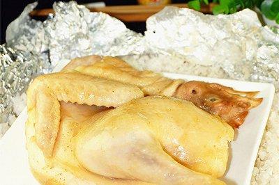 烤箱菜盐焗鸡