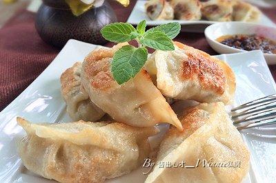 私房香菇糯米煎饺